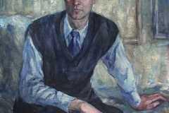Мужской портрет. Холст, масло, 2000