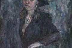 Незнакомка. Холст, масло, 2000.