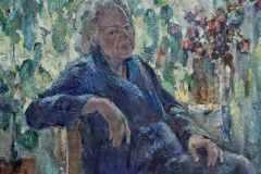 Портрет Анны Петровны 70x80 см., холст, масло, 2003.